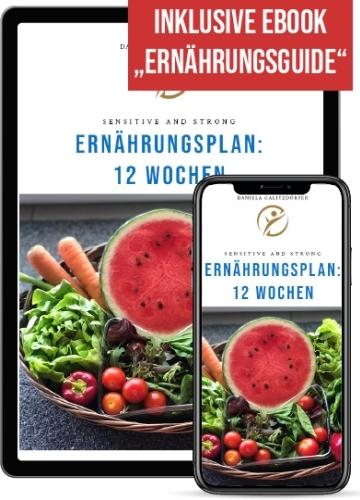 Ernährungsplan für 12 Wochen