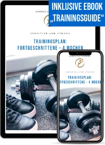 Trainingsplan Fortgeschrittene 4 Wochen